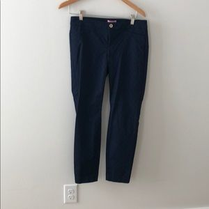 Lilly Pulitzer solid kelly ankle pants